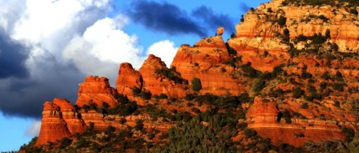 Sedona Arizona Red Rocks Balance Rock